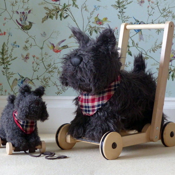 Baby Toys - Scottie Dog Pull Along By Little Bird Told Me