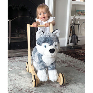 Push Along - Mishka Dog Walker & Ride-On By Little Bird Told Me