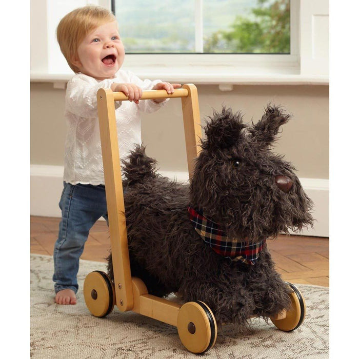 Scottie Dog Push Along & Ride-On by Little Bird Told Me