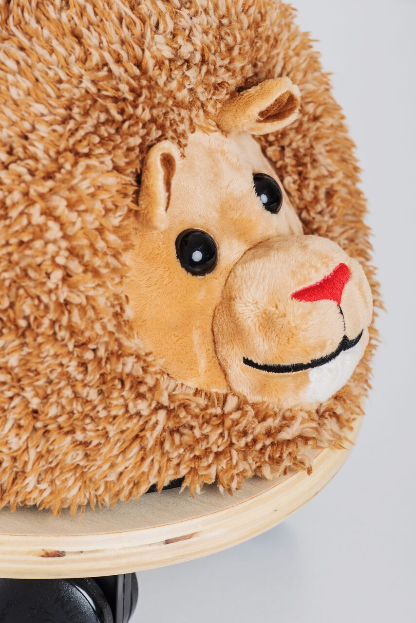 Ride On Toys - Wheelybug Ride On - Lion Plush