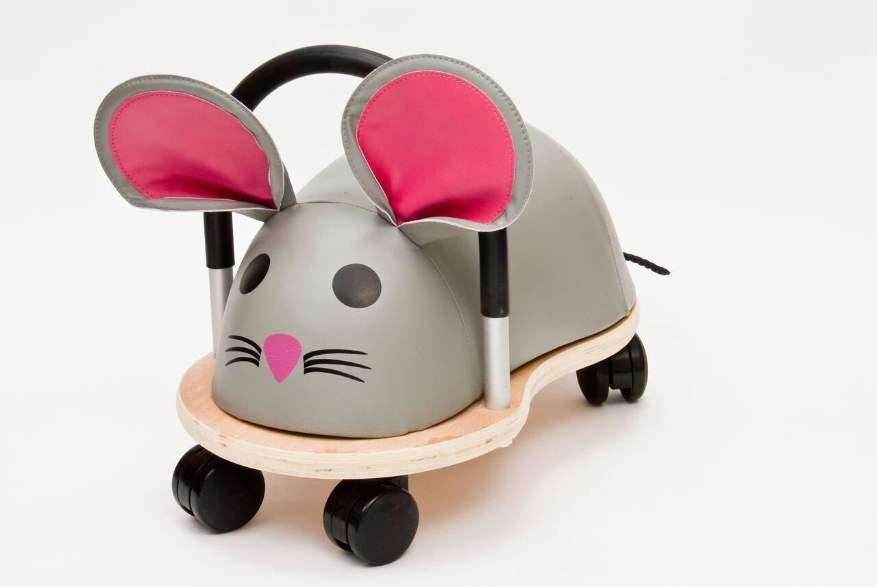 Ride On Toys - Wheelybug Ride On - Mouse
