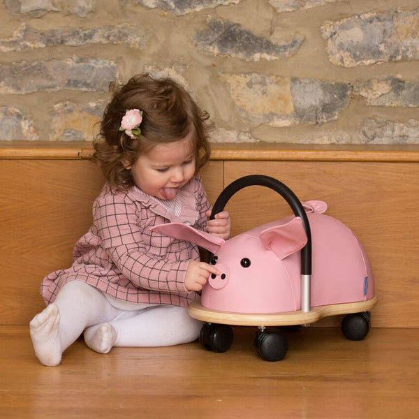 Ride On Toys - Wheelybug Ride On - Pig