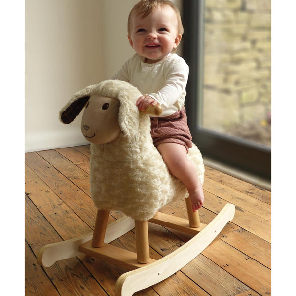 Rocking Animals - Lambert Rocking Sheep (9m+) By Little Bird Told Me