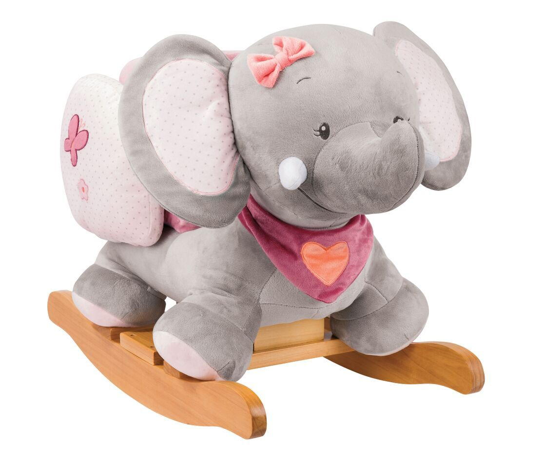 Nattou Rocker Elephant Adele Baby Rocker For 6 Month Old