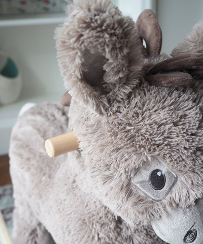 Rocking Animals - Norbert Rocking Donkey (12m+) By Little Bird Told Me