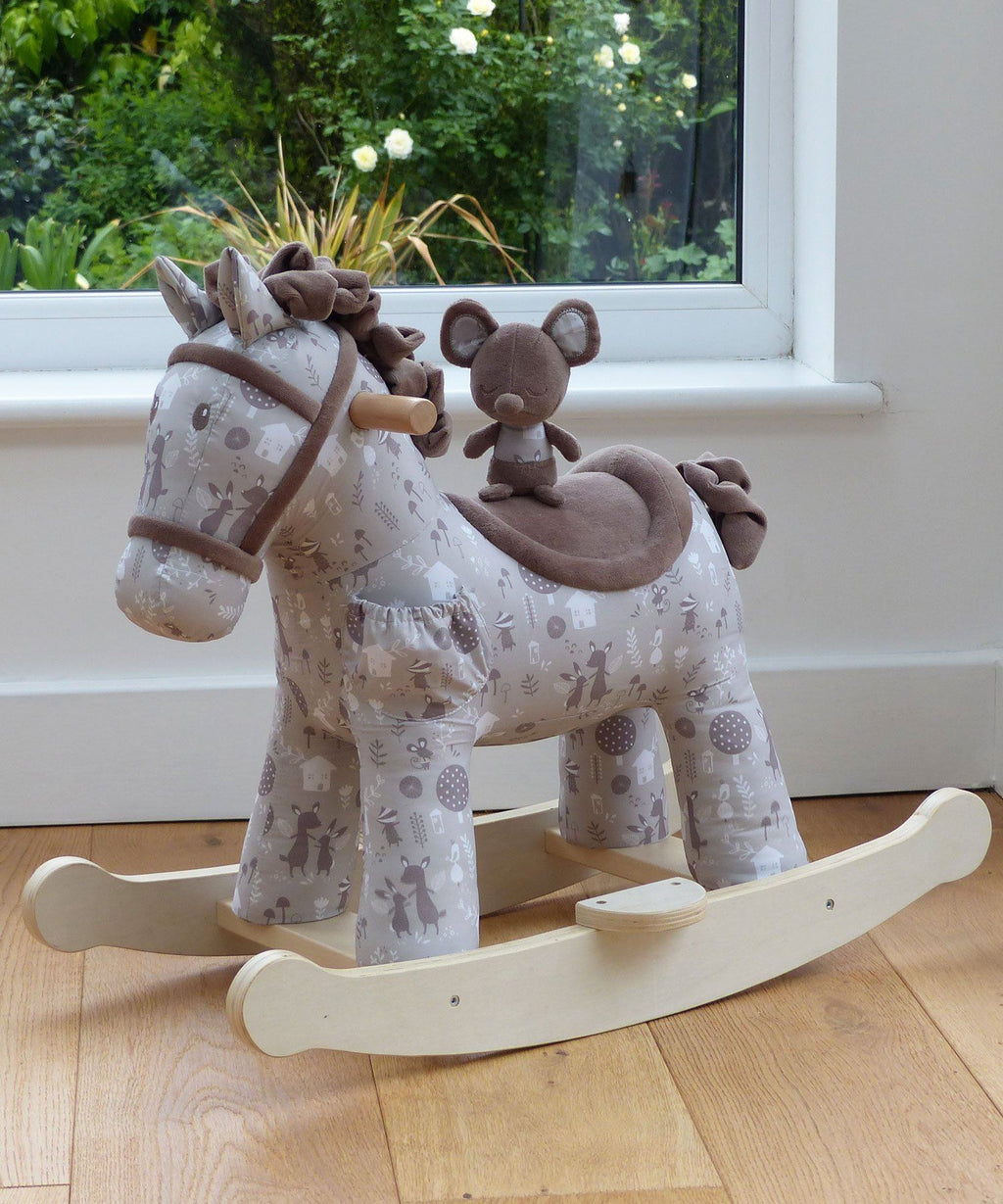 Rocking Horse - Biscuit & Skip Rocking Horse (9 Months+) By Little Bird Told Me