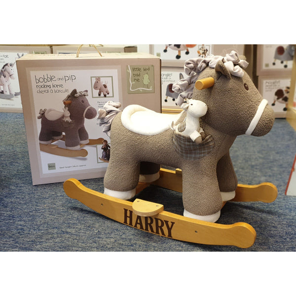 Rocking Horse - Bobble And Pip Rocking Horse (9m+) By Little Bird Told Me