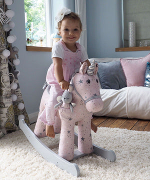 Rocking Horse - Celeste & Fae Rocking Unicorn (12 Months +) By Little Bird Told Me