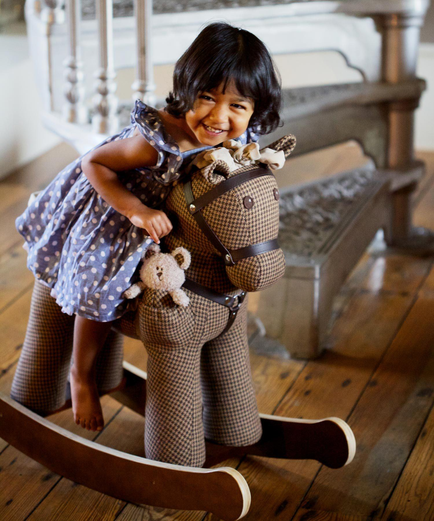 Rocking Horse - Chester And Fred Rocking Horse (12m+) By Little Bird Told Me