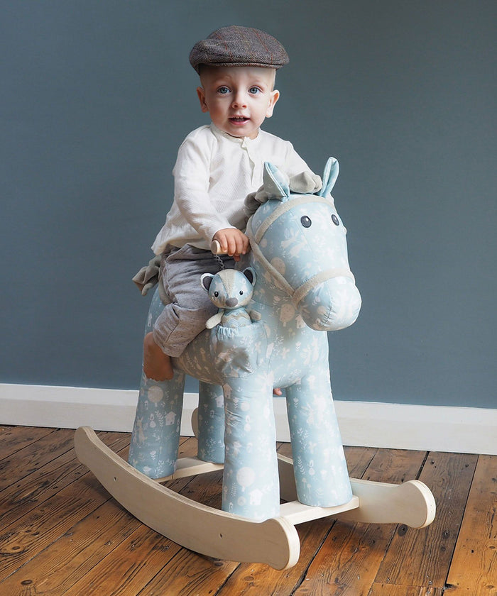 Finn and Munchkin Rocking Horse (12m+) by Little Bird Told Me