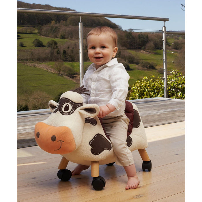 Moobert Ride On Cow by Little Bird Told Me