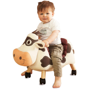 Rocking Horse - Moobert Ride On Cow By Little Bird Told Me