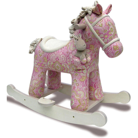 Rocking Horse - Pixie And Fluff Rocking Horse (9m+) By Little Bird Told Me