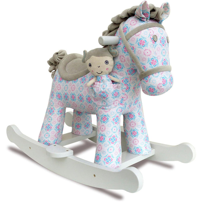Rosie and Mae Rocking Horse (9m+) by Little Bird Told Me