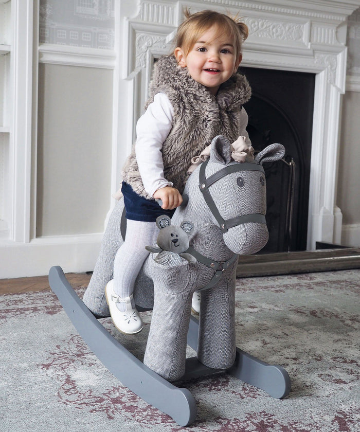Stirling & Mac Rocking Horse (12m+) by Little Bird Told Me