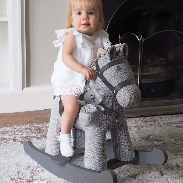 Rocking Horse - Stirling & Mac Rocking Horse (9m+) By Little Bird Told Me
