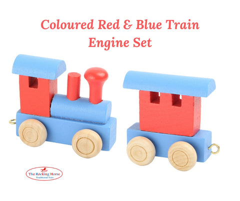 Train Names - Coloured Train Letters & Engine Sets