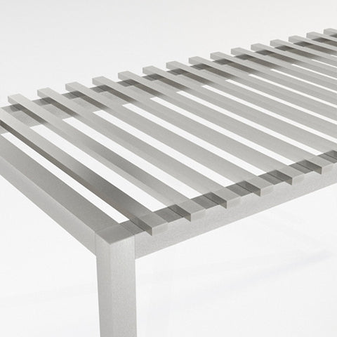 Aluminum Slat - 2 x 4 - Horizontal Over