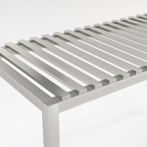 Aluminum Slat - 2 x 5 - Horizontal Over