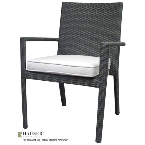 Malibu Stacking Arm Chair