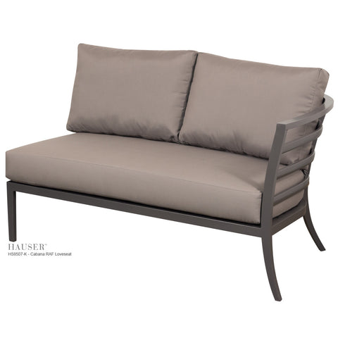 Cabana Lounge Chair - Hauser Site Furniture