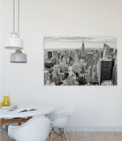 foto op canvas interieur