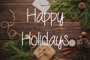 Bridges Vacation Notice - Happy Holidays!