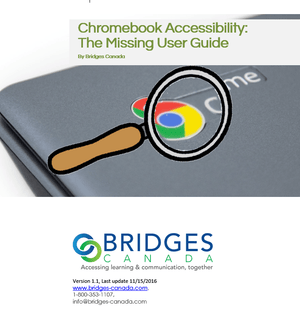 Chromebook Accessibility the Missing Users Guide