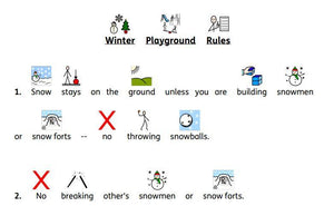 Symbolized Winter Rules and Vocabulary