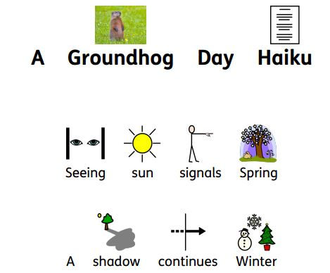 Groundhog Day Symbolized Haiku
