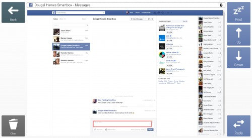 Facebook integration in Grid 3