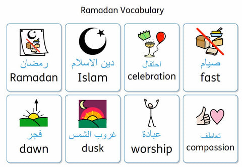 Download our Ramadan Vocabulary Cards