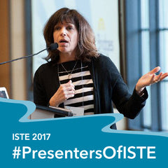 Susie presenter of ISTE 2017