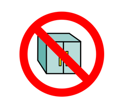 classroom cupboard proof icon