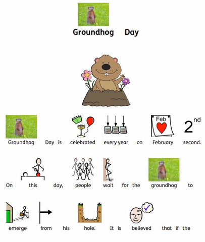 Bridges' symbolized Groundhog Day Resource