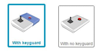 Would you like a keyguard included with your BJOY Stick A?