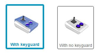 Would you like a keyguard included with you BJOY Stick A Lite?