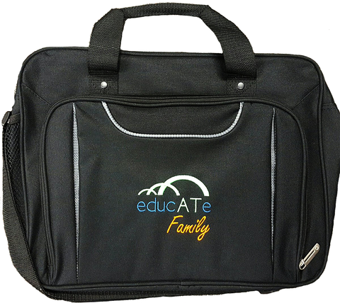 You could win an exclusive educate family laptop bag when you purchase the course
