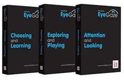 Inclusive's Eye Gaze Learning Curve software bundle is included in both EyeLearn Rolling and Desktop packages.