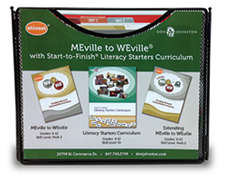 MeVille to WeVille Literacy Starters curriculum special needs