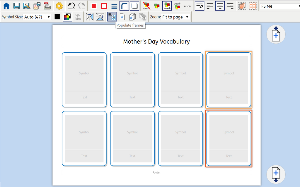 populate frames widgit online mothers day pic bridges canada