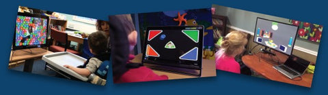 kids and Eyegaze evaluation inclusive learning curve software