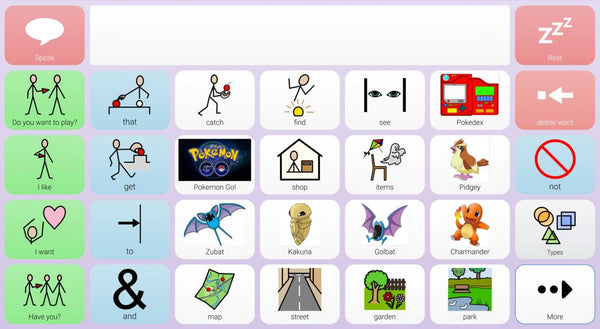 Pokemon Go Grid Set