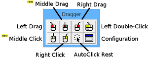 Dragger -- Mouse Button Utility for Windows - Bridges Canada