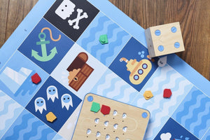 Additional Maps for Cubetto Coding Playset - Bridges Canada