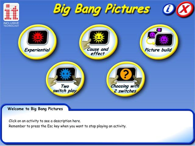 Big Bang Pictures Software