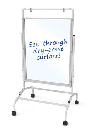 Clear Dry-Erase Wide Room Divider - Bridges Canada