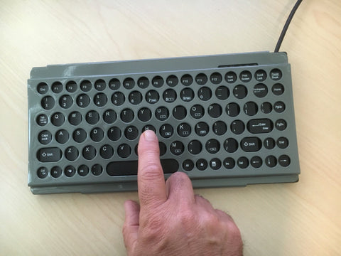 Compact Keyboard And Guard USB - Bridges Canada