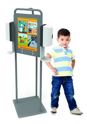 Double Hand Sanitizer Station - Dispenser sold separately - Bridges Canada