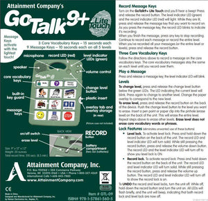 GoTalk 9+ Lite Touch - Bridges Canada